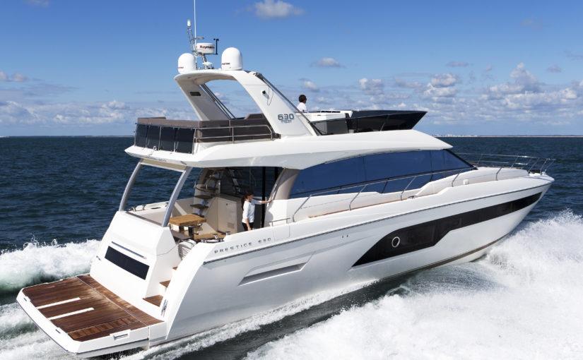 Prestige Yachts storsatsar med sex nya modeller