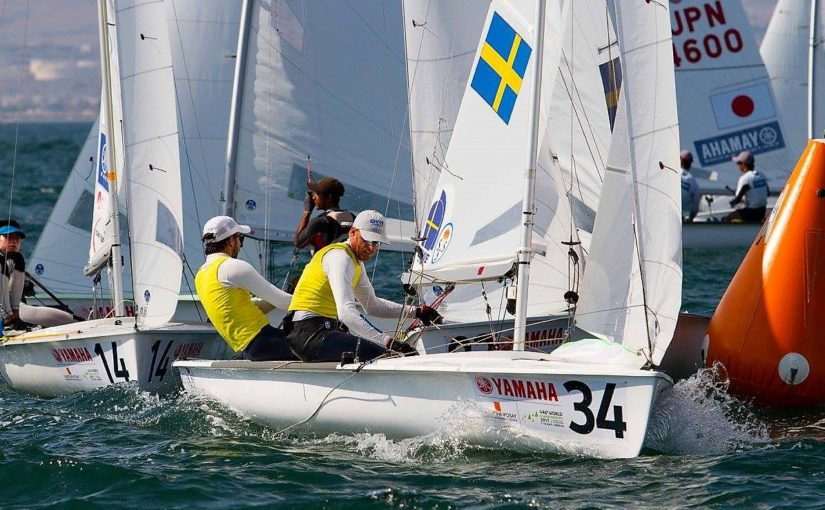 Svensk VM-silver i 470