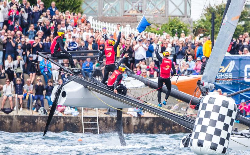 Mästerlig uppvisning av Robertson på Marstrand