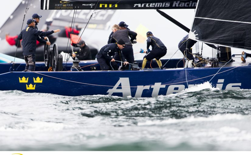 Artemis kvar på femte plats i RC44-VM