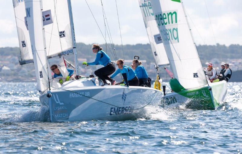 Fyra besättningar kvartsfinalklara i Lysekil