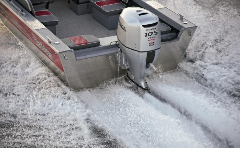 Honda lanserar tre motorer med vattenjet
