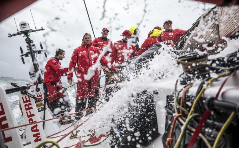 Nu börjar uppladdningen inför Volvo Ocean Race