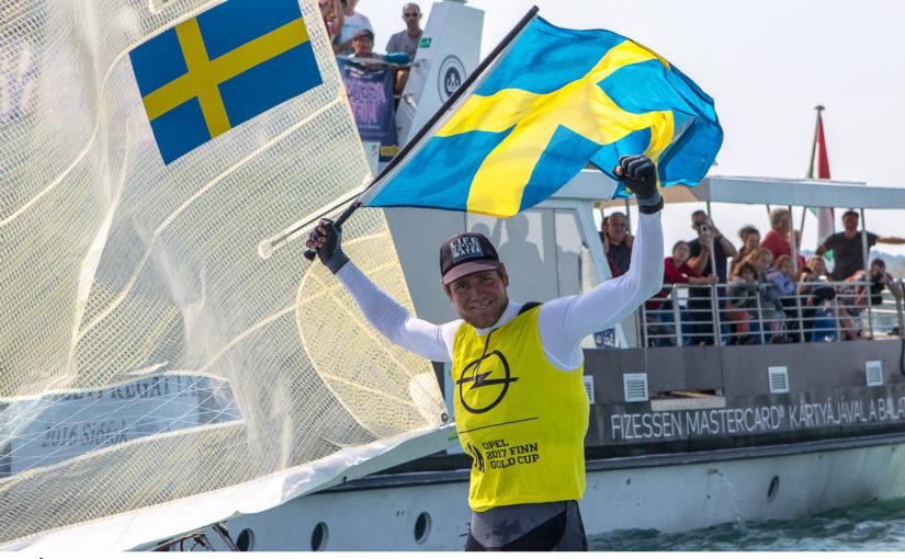 Max Salminen vann Finnjolle-VM