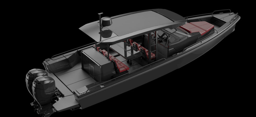Axopar bygger lyxbåtsserie med Brabus
