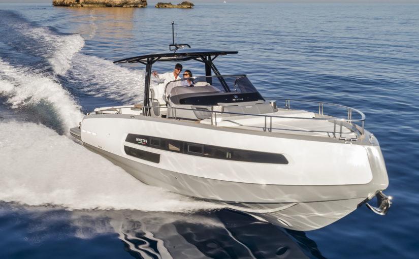 Invictus 370 GT premiär på Cannes Yachting Festival
