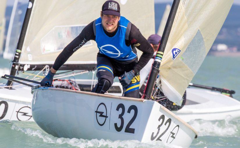 Max Salminen leder VM i Finnjolle