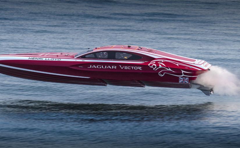 Jaguar och Vector Racing bygger prestandabåt
