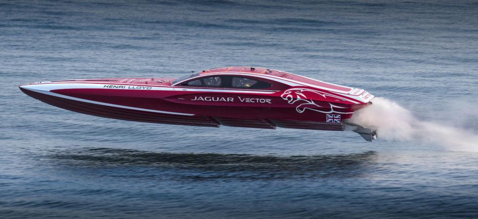 Mannerfelt Design bakom Jaguars och Vectors prestandabåt