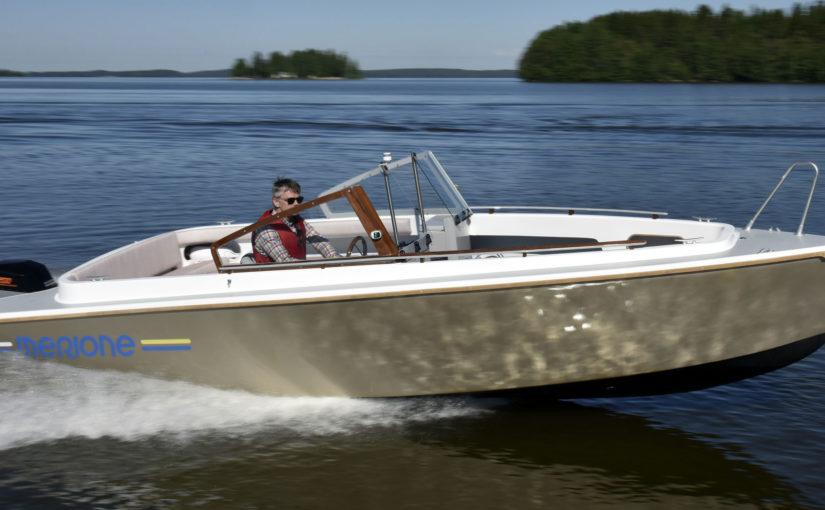 Finsk elbåt i ny version