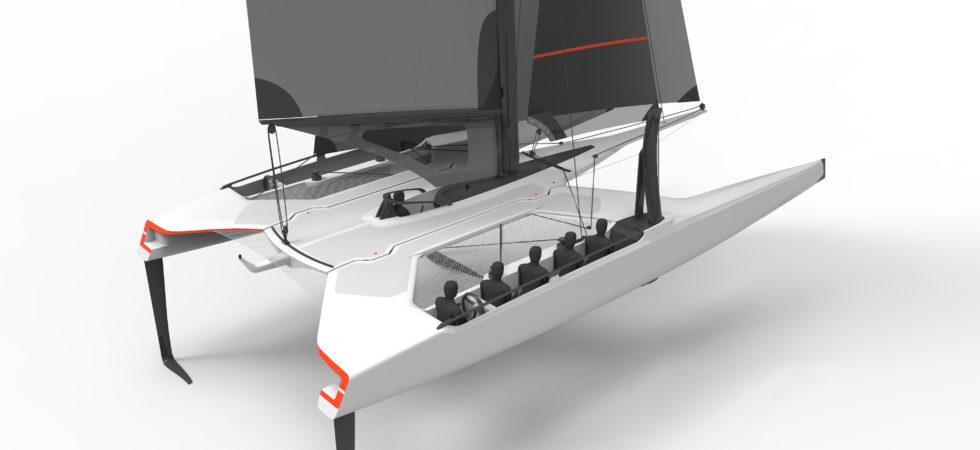 Mannerfelt ritar ny foilande katamaran för Volvo Ocean Race