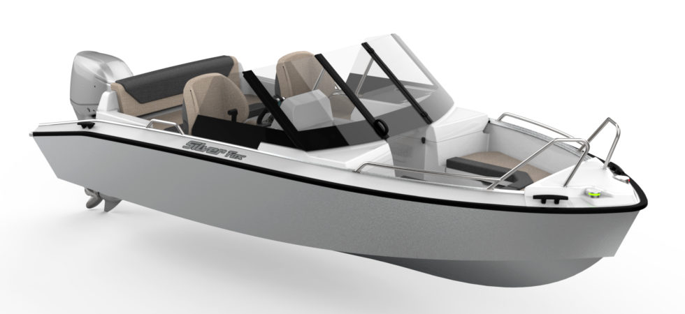 Ny Silver Fox – lanseras på vårens båtmässor
