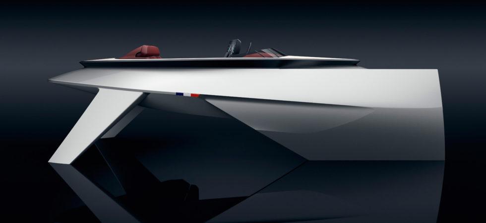 Framtidens båt och förarplats visas i Paris