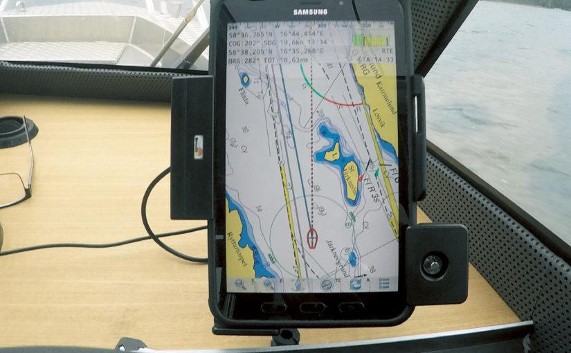 Egen plotter i Samsung padda