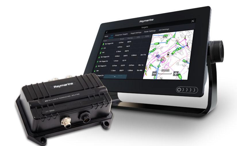 Raymarine AIS-sändare med integrerad antennsplitter