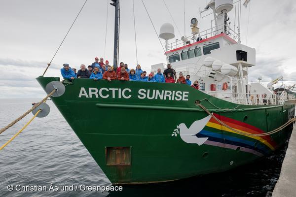 Greenpeace i Sverigeledd Antarktisexpedition