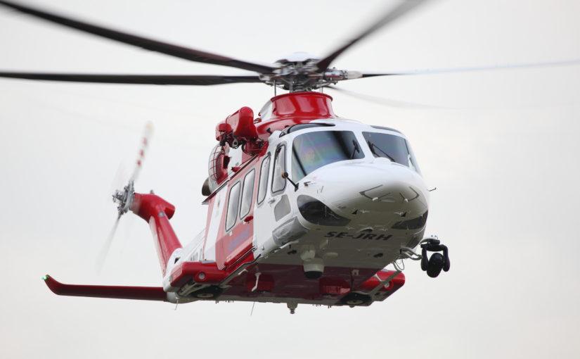 Luftburen sjöräddning i riksdagens försvarsutskott