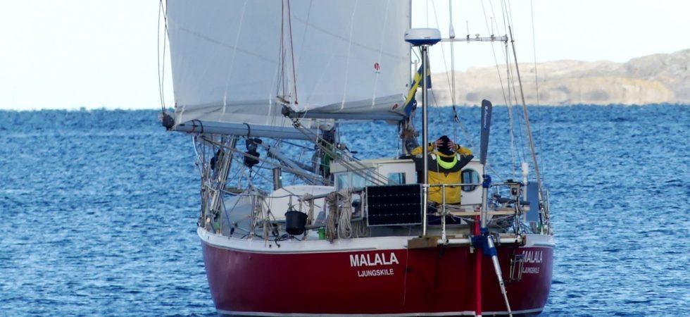 Rutgerson testar produkter i nonstop-segling runt jorden