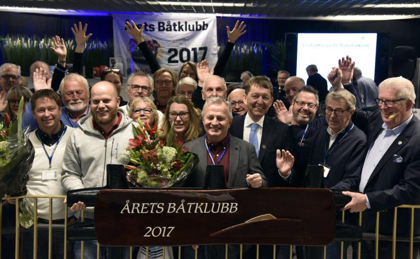 Årets Båtklubb firades på Båtmässan i Göteborg