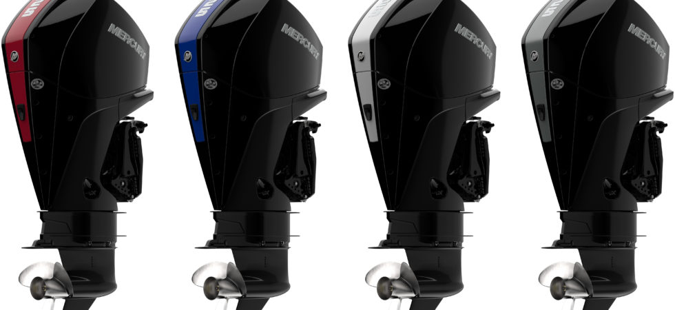 Ny kraftfull serie V-6 utombordsmotorer från Mercury
