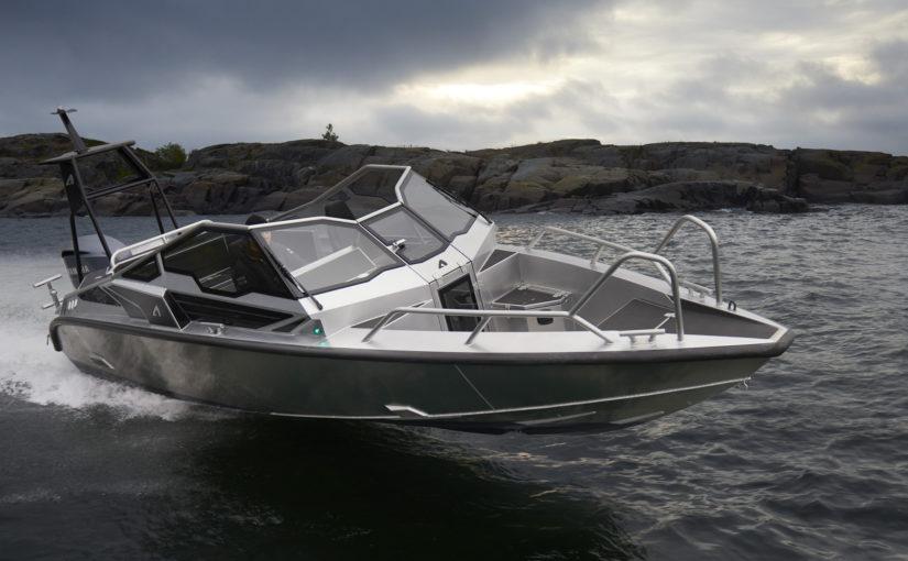 Anytec A27 bästa öppna båten i Helsingfors