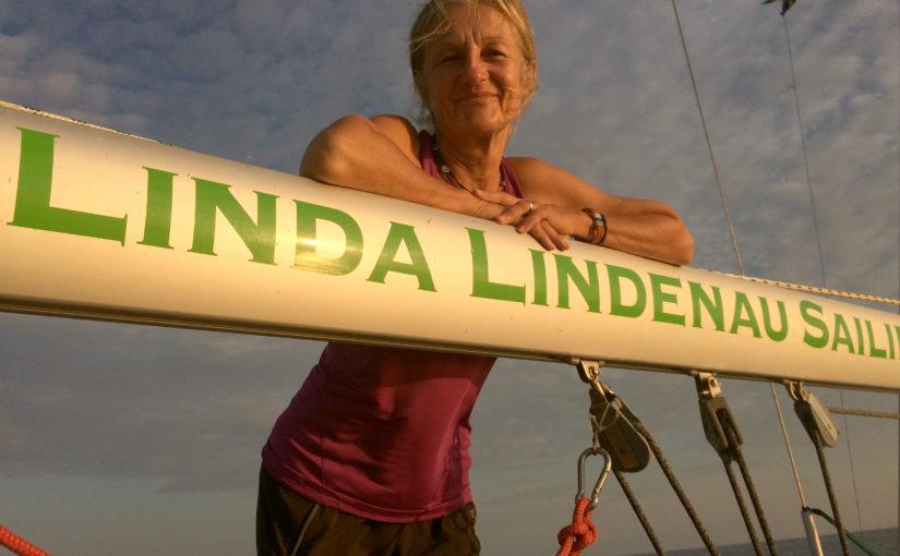 Linda Lindenau pratar långsegling hos Sjöskolan