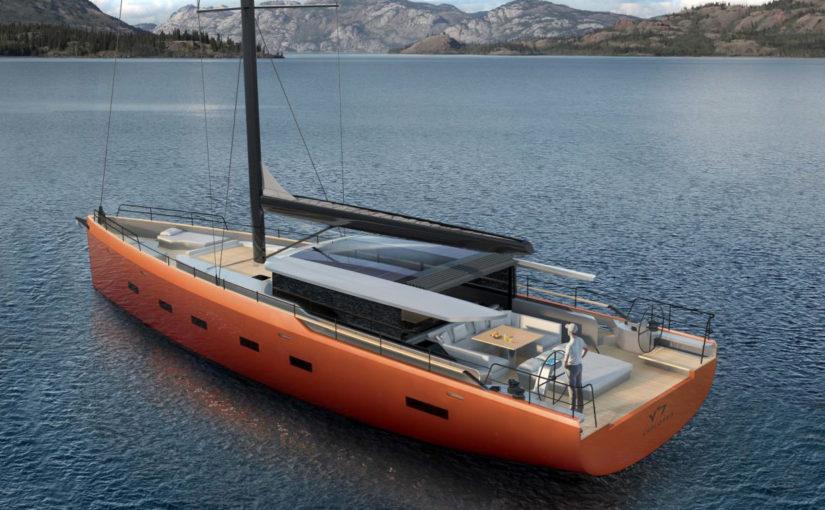 Crossover segelbåt från Michael Schmidt