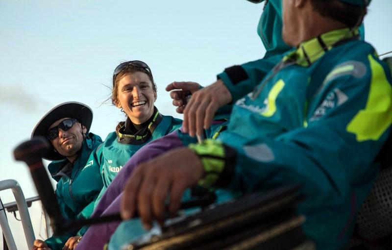 Match racing söderöver i Volvo Ocean Race