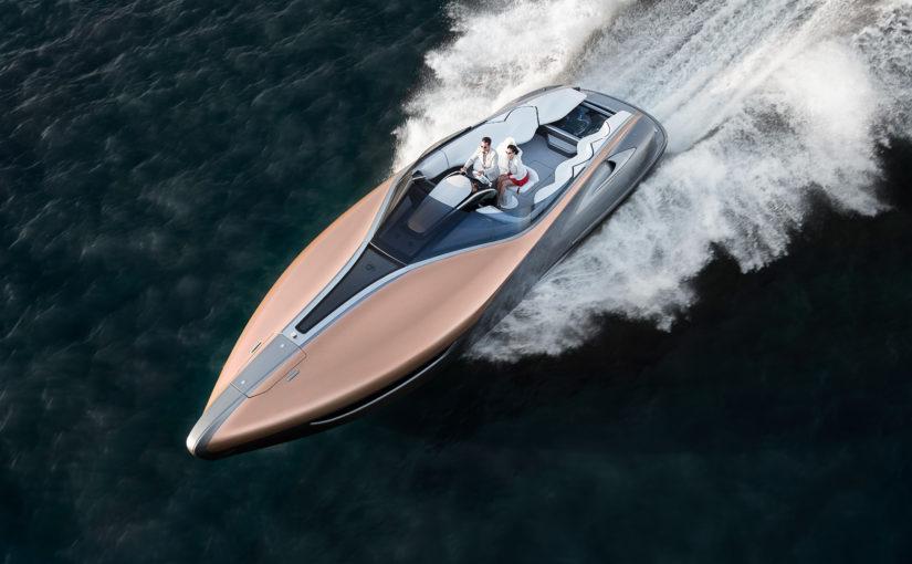 Lexus lyxiga sportbåt byggs av Carver Yachts