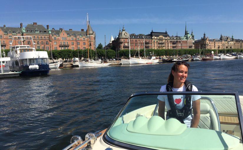 Båtcoach Maria Lannér på Neptunia ny krönikör på tidningen Båtliv