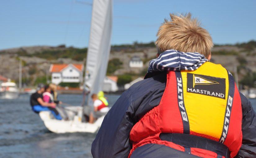 Marstrandsbarnen lär sig segla på skoltid!