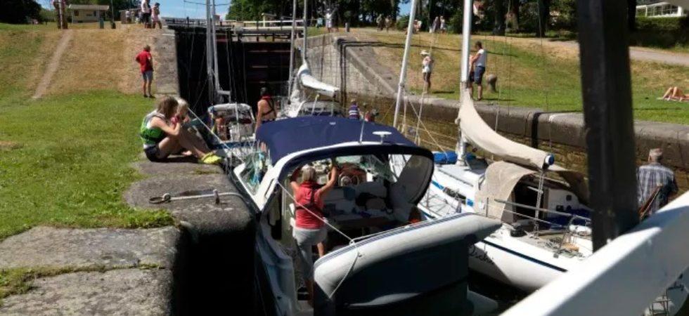 Göta kanalbolag utmanar bilden av en typisk slussvärd