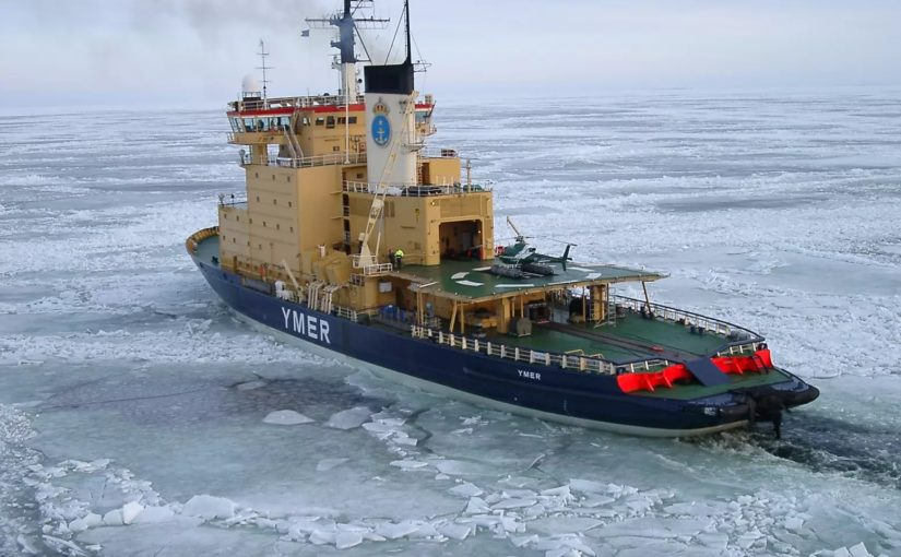 Besvärligt isläge i flera svenska farvatten