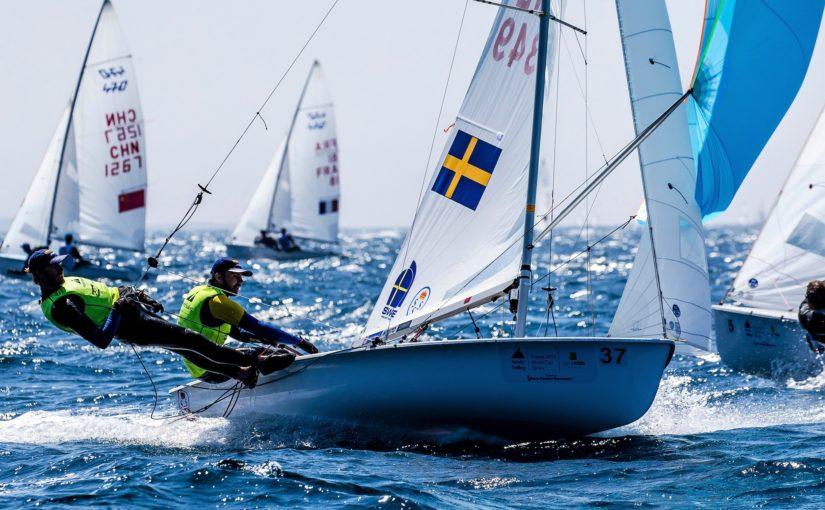 Svensk seger i världscupen i 470