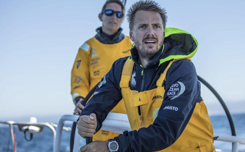 Strömberg siktar på pallen i Volvo Ocean Race