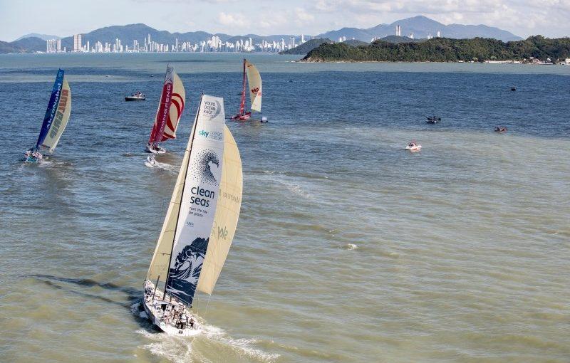 Sex team startar i Itajaí In-Port Race