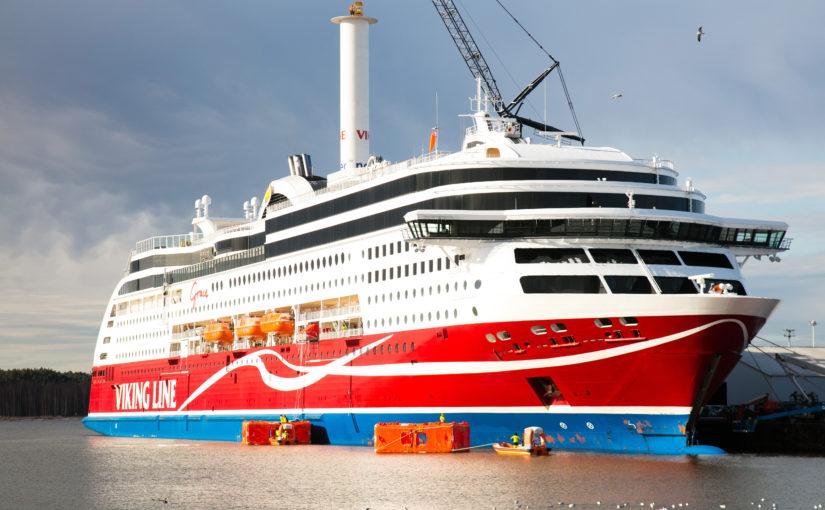 Viking Grace blir segelfartyg