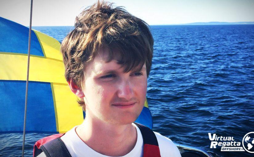Göteborgare i topp i det virtuella Volvo Ocean Race-spelet