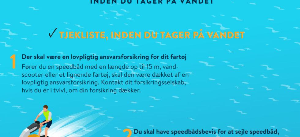 Nya regler om ansvarsförsäkring för båtar i Danmark
