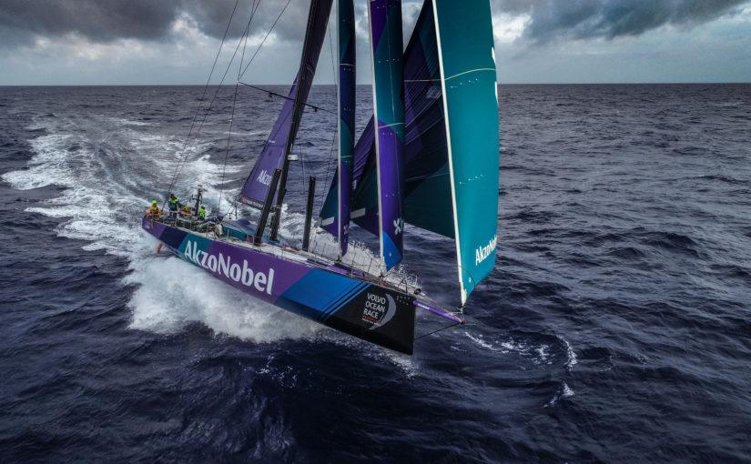 Team AkzoNobel slog drömrekordet i Volvo Ocean Race