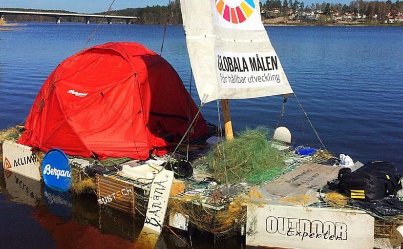 Petter Stordalen seglar skräpflotte till Almedalen