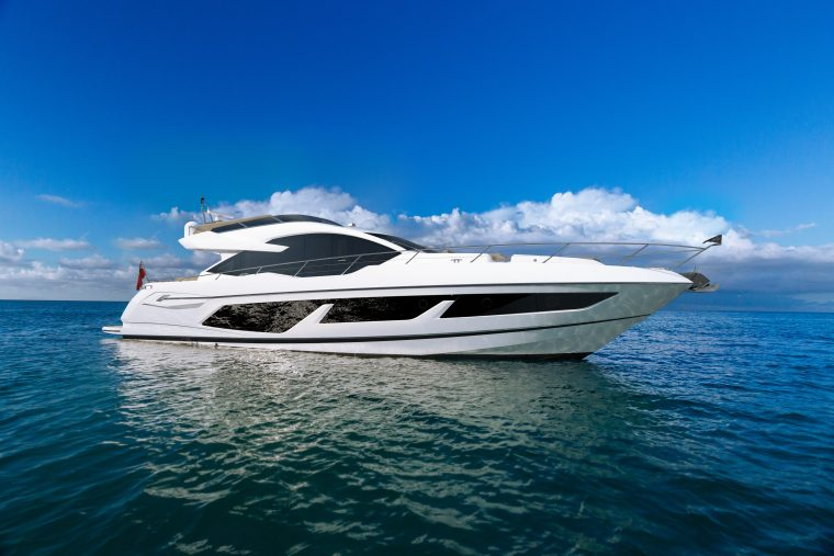 74 fots sport yacht från Sunseeker