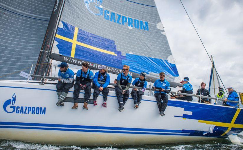 Sverige tvåa på första etappen av Nord Stream Race