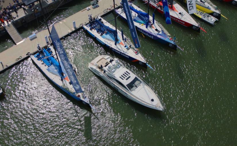 Självparkering för båtar med Volvo Penta IPS