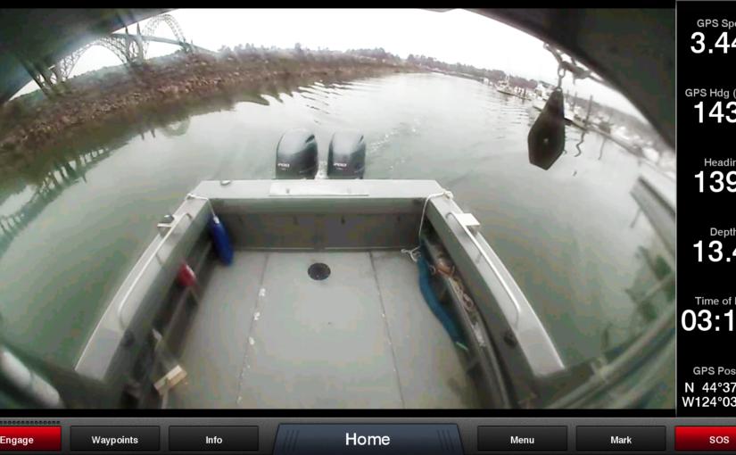 Trådlös marin kamera håller koll