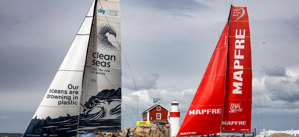Startskott för finaletappen av Volvo Ocean Race i Göteborg