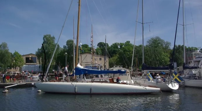 Kustkryssaren Sofia vinnare av Allt för sjöns veteranbåtspris
