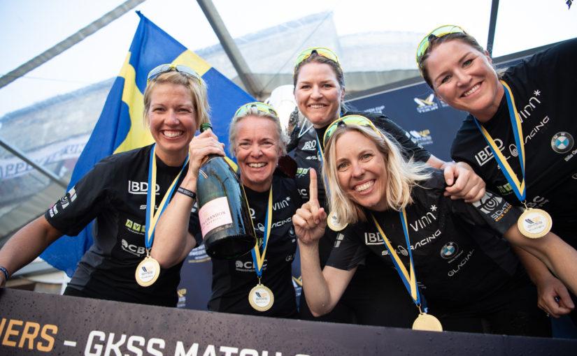 Anna Östling historisk mästare i Women's Trophy