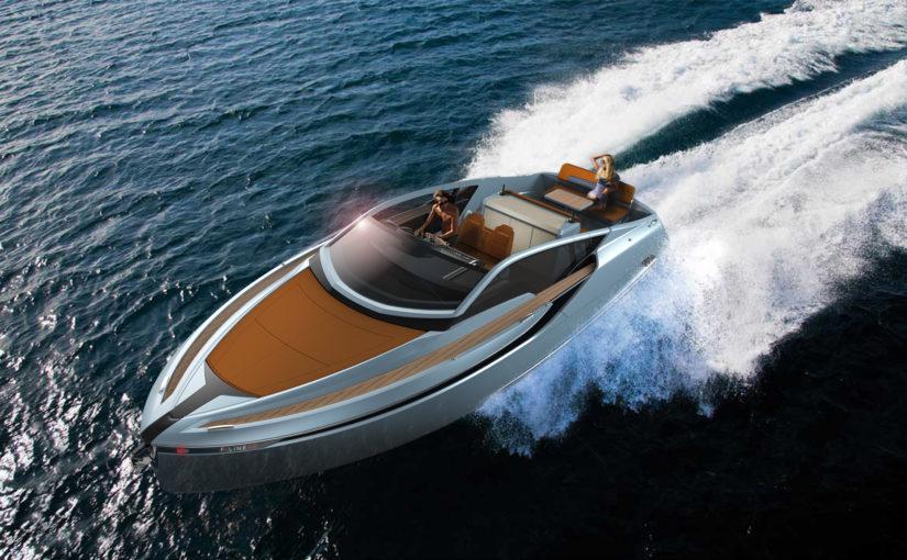Fairline Yachts visar nya F-Line 33