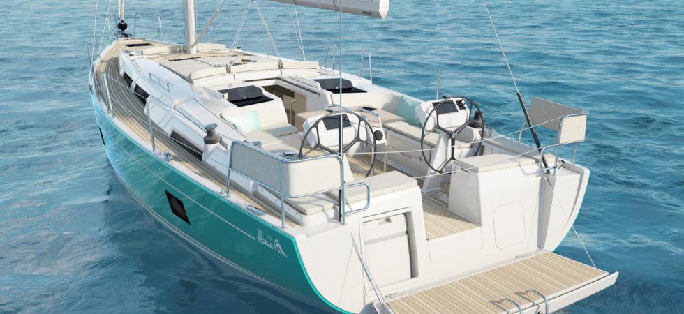 Två nya cruisingyachter från Hanse Yachts
